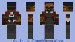 Falcon (Civil War) + Bonus Elytra skin (Description) Minecraft Skin