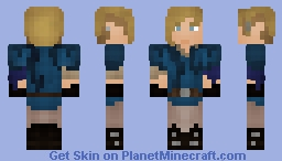 The Stable Boy's New Sweater Minecraft Skin
