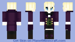 Alois Trancy ~ Black Butler/Kuroshitsuji Minecraft Skin