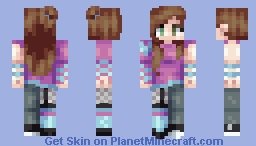 Two-Sided (25TH PLACE) Minecraft Skin