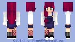 мєσωℓιєđєєɾ   Tripping on skies, sipping waterfalls ♪ ♫ ♬ // Online persona contest ! Minecraft Skin