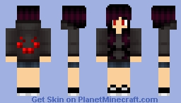 Spider Girl Minecraft Skin