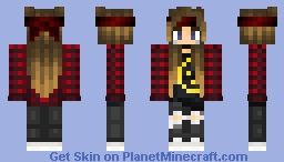 TotallyNotPsychotic | Naruto Inspired Minecraft Skin