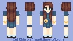 ❤   skin trade w/ beverly Minecraft Skin
