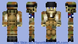 Modern Arms Skin Pack:Australian Army Minecraft Skin