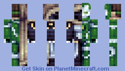 Over-Time - Online Persona Skin Contest Minecraft Skin