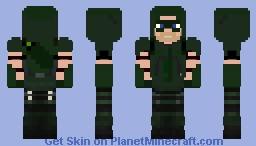 The GREEN ARROW Minecraft Skin