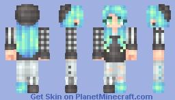 """""""7 years"""" [fanskin/edit] + male version Minecraft Skin"""