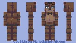 Hello kids, get ready for fun. (Freddy) FNAF Series- Minecraft Skin