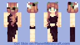 BrǐtBrǐtt~ Horns. Minecraft Skin