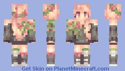 i tried Minecraft Skin