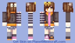 Redo (My Persona!) Minecraft Skin