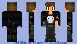 JacksonGhoul (Cyborg-Armed PVP) Minecraft Skin