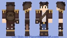 JacksonGhoul (Ship captain) Minecraft Skin