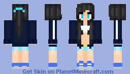 Evelye | Me in Irl | Blue Sporty Girl ;3 Minecraft