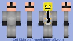The Weird guy-Online Persona Skin Contest Minecraft Skin