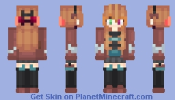 The Archeologist (I Dug Through My Old Computer Files) Minecraft Skin