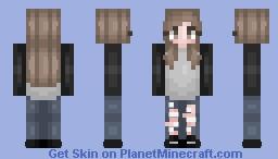 𝓜𝓸𝔀𝔂 | Autumn love♥ Minecraft Skin