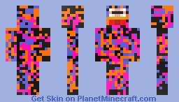 Mr. Pwwn-Experiment Minecraft Skin