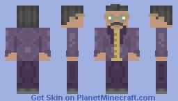 President Raiko [Legend of Korra] Minecraft Skin