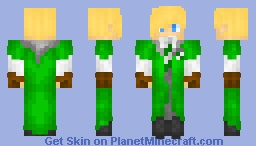 Draco Schoneheit - Slytherin Quidditch Skin ^-^ Minecraft Skin