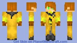 Star Holmes - Hufflepuff Quidditch Skin! :D Minecraft Skin