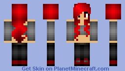 Girl Cartoonz Minecraft Skin