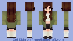 eva // sketch in desc. Minecraft Skin
