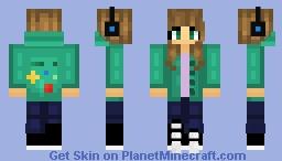 Repost: Gracie ~ Tsukkiko Minecraft Skin