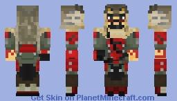 d52de487d7 Hanzo, Lone Wolf   Overwatch Minecraft Skin