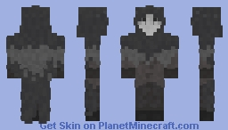 Masked Character Minecraft Skin