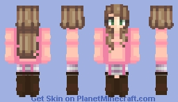 [R] Evelyelle's Request ♡ | ★ Stucky ★ Minecraft Skin