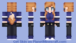 The Marching Wolf ~ Personal Minecraft Skin