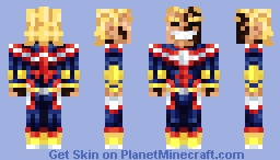 All Might [Hero Academia] Minecraft Skin