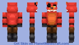 Toy Foxy Minecraft Skin