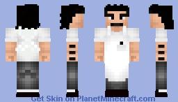 Bob Belcher (Bob's Burgers) Minecraft Skin