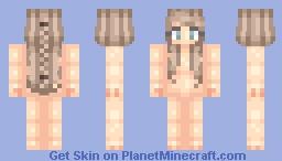 Dirty Blonde hair base Minecraft Skin