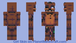 FNaF 2 - Dismantled Animatronics (4 skins) Minecraft