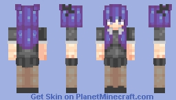 idk what to caption Minecraft Skin