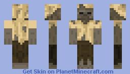 Husk Zombie Minecraft Skin - Skins para minecraft pe zombie