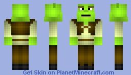 SHREK - JaxSkins - Series 1 Minecraft Skin