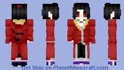 Itachi Uchiha - Edo Tensei (Naruto) Minecraft Skin