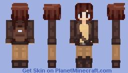 Indiana Jane -REQUEST- Minecraft Skin