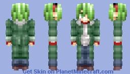 Lubbock (Akame Ga Kill) Minecraft Skin