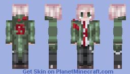 Nagito Komaeda - SDR2 (AE version in desc) Minecraft Skin