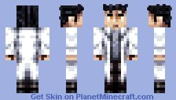 Okabe Rintarou - Steins;Gate Minecraft Skin