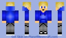 Kyle Nelos Tsuka (OC) (Aphmau) (MyStreet) (Minecraft) Minecraft Skin