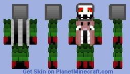 Omega Flowey Minecraft Skin