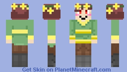 greeting's i am char- Minecraft Skin