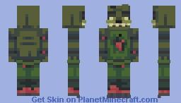 FNaF 3 - Springtrap Minecraft Skin